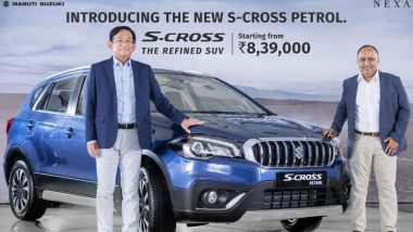 Maruti Suzuki S-Cross Petrol Launched in India at Rs 8.39 Lakh; Prices, Features, Variants & Specifications