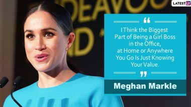Meghan Markle Birthday: Motivating Quotes by The Duchess of Sussex to Share as Turns 39!