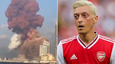 Mesut Ozil Offers Love and Support to Victims of Beirut Blast