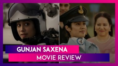 Gunjan Saxena - The Kargil Girl Movie Review: Janhvi Kapoor Is Effective In This Pleasing Biopic
