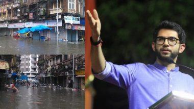 Mumbai: Aaditya Thackeray Appeals People to Remain Indoors Amid Heavy Rainfall, High Wind Speed