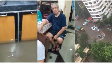 From Gondolas at Bhulabhai Venice Road to Mediterranean Sea at Murzban Colony Mumbai Has Seen It All During This Rainy Season; Watch Videos With Funny Commentary