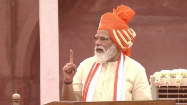 PM Narendra Modi Independence Day 2020 Address From Red Fort: Prime Minister Announces National Digital Health System, Speaks on Aatma Nirbhar Bharat Vision; Here Are Highlights of His August 15 Speech