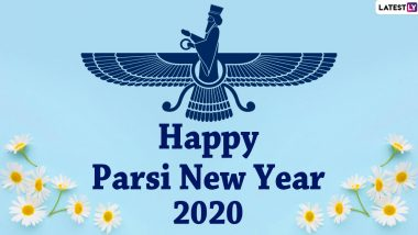 Happy Parsi New Year 2020 Wishes & HD Images: WhatsApp Stickers, Facebook Greetings, GIF Messages, Instagram Stories And SMS to Wish Nowruz Mubarak