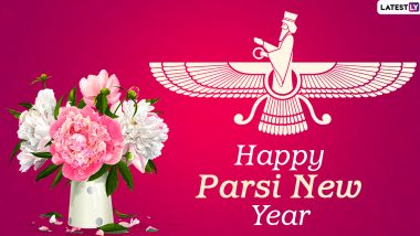 Parsi New Year 2020 Images And HD Wallpapers For Free Download Online: Nowruz Mubarak Wishes, WhatsApp Stickers And GIF Greetings to Celebrate the Festival