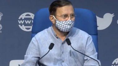 SAMEER App: Prakash Javadekar Appeals All Indians to Download The Mobile Application to Track Pollution
