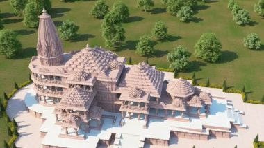 Ram Mandir Construction Update: Building of Temple at Ram Janmabhoomi in Ayodhya to Begin After September 17, Labourers to Undergo COVID-19 Test