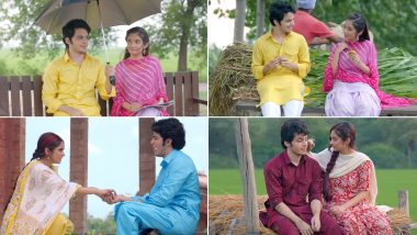 Pyar Naal Song Out: Anushka Sen and Darsheel Safary's Chemistry In This Punjabi Track Is Fresh and Cute (Watch Video)