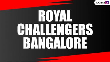 RCB Team Profile for IPL 2020: Royal Challengers Bangalore Squad in UAE, Stats & Records and Full List of Players Ahead of Indian Premier League Season 13