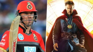 Ahead of IPL 2020, Royal Challengers Bangalore Compare AB de Villiers to Doctor Strange (View Post)