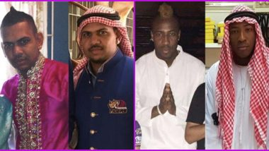 KKR Posts Pictures of Andre Russell, Sunil Narine Donning Arab Attire; Says 'Coming Soon to UAE'