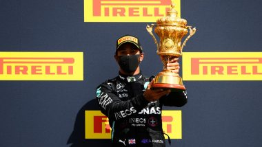 British Grand Prix 2020: Lewis Hamilton Wins Record Seventh Race in Silverstone, Red Bull's Max Verstappen Finishes Second