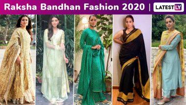 Raksha Bandhan 2020: Katrina Kaif, Vidya Balan, Kajol, Alia Bhatt, Kriti Sanon Lend Fabulous Festive Fashion Ideas!