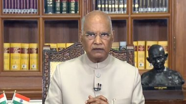 President Ram Nath Kovind Accepts Resignation of Puducherry CM V Narayanasamy and His Council of Ministers