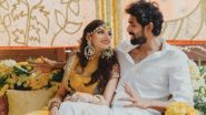Rana Daggubati - Miheeka Bajaj Wedding: The Adorable Couple Get Captured In a Cute Candid Moment At Their Haldi Ceremony (View Pic)