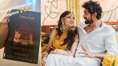 Rana Daggubati and Miheeka Bajaj Wedding: Bhallaladeva Receives a Special Gift From the 'Baahubali Kingdom' (View Pic)