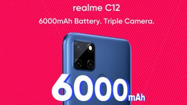 Realme C12 Specifications Leaked on Flipkart Ahead of Its Launch