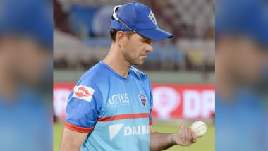 IPL 2020: Delhi Capitals Post 'Thoughtful' Picture of Head Coach Ricky Ponting, Fans Come Up with Intriguing Captions