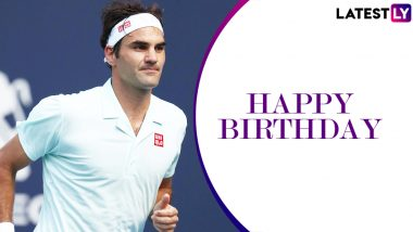 Roger Federer Birthday Special: 10 Interesting Facts About the 20-Time Grand Slam Champion and Swiss Tennis Maestro