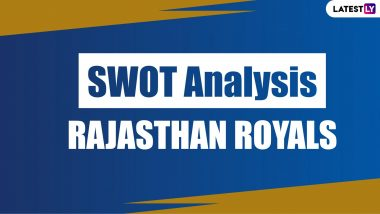Rajasthan Royals Team SWOT Analysis: Ahead of IPL 2020 Find Out Positives And Negatives of Steve Smith's RR