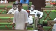 Rajasthan Political Crisis: Sachin Pilot Reacts to New Assembly Seating Arrangement, Says 'Strongest Warrior is Sent to The Border'