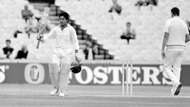 This Day That Year: Sachin Tendulkar Scores Maiden International Hundred, a Test Saving Knock vs England and the Start of Journey to 100 International Centuries