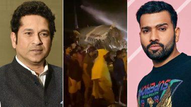 Air India Express Plane Crash: Sachin Tendulkar, Virat Kohli and Rohit Sharma Lead Sports Fraternity's Prayers for Victims of IX-1344 Dubai-Kozhikode Flight Mishap in Kerala