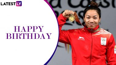 Mirabai Chanu Birthday Special: Interesting Facts About the 2017 World Weightlifting Champion