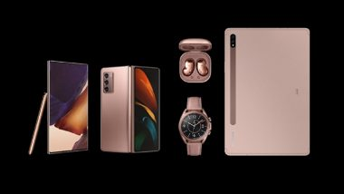 Samsung Galaxy Note 20 Series, Galaxy Z Fold 2, Galaxy Buds Live & Galaxy Watch 3 Launched