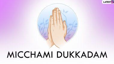 Samvatsari 2021 Wishes: Revelers Say 'Micchami Dukaddam' to Seek Forgiveness on the Last Day of Paryushana Parv, Check Messages Here