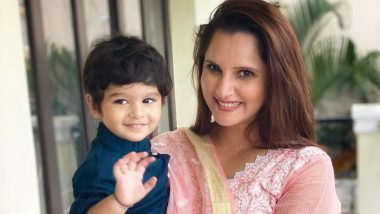 Eid Al-Adha 2020 Greetings: Sania Mirza, Son Izhaan Malik Wish Fans Eid Mubarak, Share Adorable Photo on Instagram