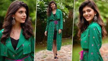 Sanjana Sanghi Is Sparking Off Some Effortless Brilliance in Bandhej for Dil Bechara Promotions!