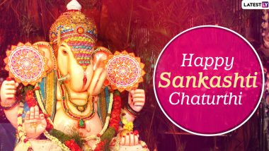 Heramba Sankashti Chaturthi 2020 Images and HD Wallpapers For Free Download Online: WhatsApp Messages, GIFs, Lord Ganesha Facebook Photos, Greetings and SMS to Send Wishes of This Auspicious Day