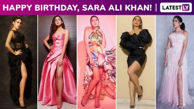 Sara Ali Khan Birthday Special: Edgy Chic Is Really Her Go-To Comfort Style, These Red Carpet Moments Testify!