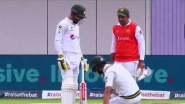 ENG vs PAK 1st Test 2020: Sarfaraz Ahmed, Ex-Pakistan Captain, Carry Drinks; Netizens Slam Team Management for 'Disrespect' Towards Senior Player