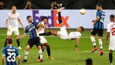 Sevilla 3–2 Inter Milan, UEFA Europa League 2019–20 Final Goal Video Highlights: Romelu Lukaku Own Goal Helps Sevilla Edge Nerazzurri for Record Sixth Title