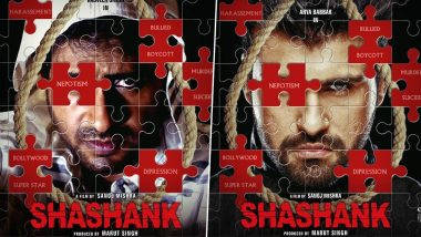 Shashank First Look: Sushant Singh Rajput's Controversial Demise Inspires Yet Another Film and It Guarantees 'Dipression' For Sure