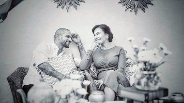 Shikhar Dhawan Wishes 'Happy Birthday' to Wife Ayesha (View Post)