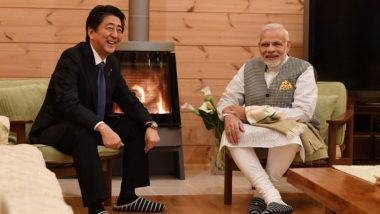 Shinzo Abe Resigns: PM Narendra Modi Expresses Concerns Over Poor Health Status of Japanese PM Shinzo Abe, Prays for His Speedy Recovery