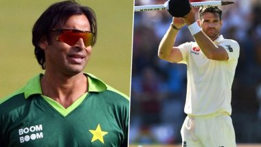 Shoaib Akhtar Mercilessly Trolled by Fans for Calling James Anderson 'Medium Fast Bowler'