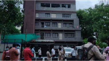 Gujarat: 8 Dead After Fire Breaks Out at COVID-19 Designated Shrey Hospital in Ahmedabad