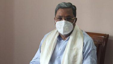 Siddaramaiah, Former Karnataka CM, Tests Positive For COVID-19, Hospitalised