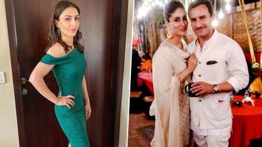 Soha Ali Khan Shares A Fun Congratulatory Message for 'Quadfather' Saif Ali Khan and Kareena Kapoor Khan On Their Second Pregnancy (View Post)
