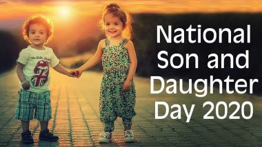 National Son and Daughter Day 2020 Date and History: Know Significance of This Day That Celebrates Parent-Child Bond