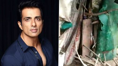 This Raksha Bandhan, Sonu Sood Turns Saviour for a Woman in West Bengal Whose Home Was Damaged By Rains (Read Tweet)