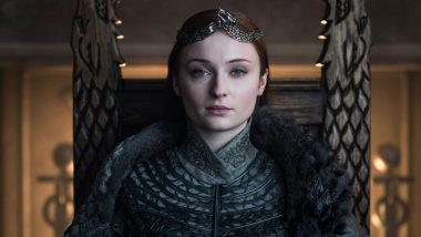 Sophie Turner aka Sansa Stark Welcomes Home Her Queen In The North Throne And We Feel Winter Is Coming! (View Pic)