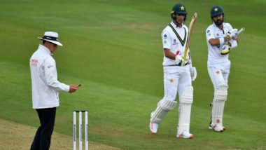 England vs Pakistan 2nd Test 2020 Day 2 Report: Mohammad Rizwan Leads Visitors to Respectable Total of 223/9