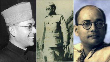 Subhas Chandra Bose Punyatithi Images & HD Wallpapers: Remembering Netaji on His Death Anniversary With Memorable Quotes and Facts