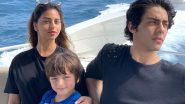Raksha Bandhan 2020: Suhana Khan Shares Snowy Pictures of Brothers Aryan Khan and AbRam From Their Pre-COVID Holidays!