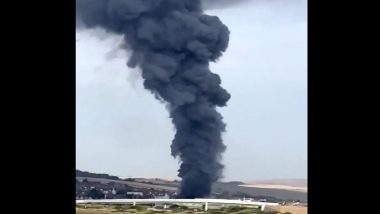 Sussex: After Beirut Tragedy, Explosion at Newhaven Industrial Unit in Port Area Sends Huge 'Black Smoke' Into Sky, Watch Video